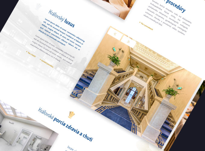 website detail royal palace
