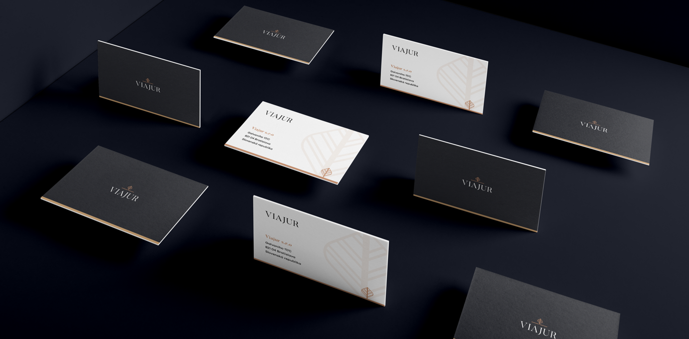 business cards viajur