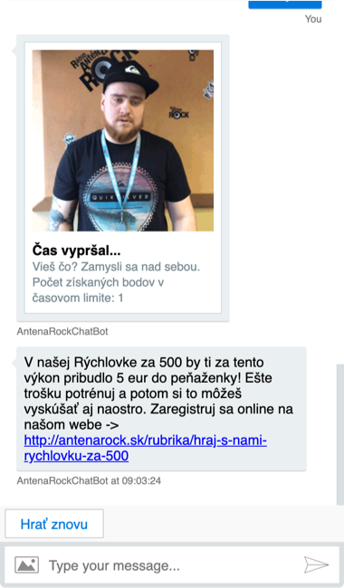 Antena Rock Chatbot